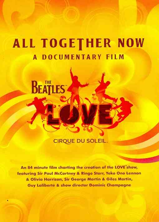 ALL TOGETHER NOW BY BEATLES (DVD)